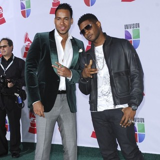 Romeo Santos, Usher in The 12th Annual Latin GRAMMY Awards - Arrivals