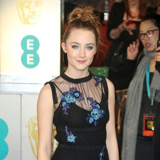 Saoirse Ronan in The 2013 EE British Academy Film Awards - Arrivals - saoirse-ronan-2013-ee-british-academy-film-awards-03