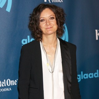 Sara Gilbert in 24th Annual GLAAD Media Awards - Arrivals