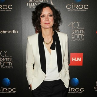 Sara Gilbert in The 40th Annual Daytime Emmy Awards - Arrivals