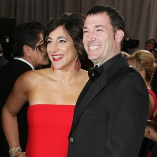 Katherine Sarafian, Mark Andrews in The 85th Annual Oscars - Red Carpet Arrivals
