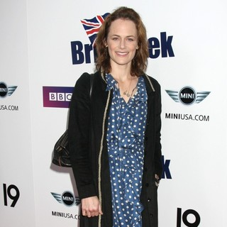 Sarah Clarke in Champagne Launch of BritWeek 2009