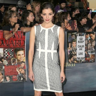 Sarah Habel in The Premiere of The Twilight Saga's Breaking Dawn Part II