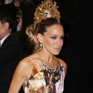 Sarah Jessica Parker in PUNK: Chaos to Couture Costume Institute Gala