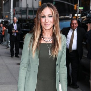 Sarah Jessica Parker - Sarah Jessica Parker Attend the Late Show with David Letterman