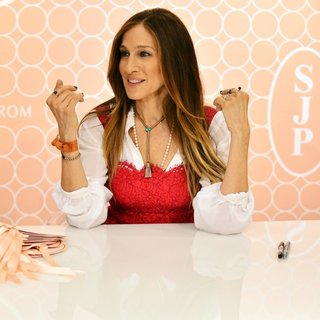 Sarah Jessica Parker Meets Fans as She Launches Her Shoe Collection SJP