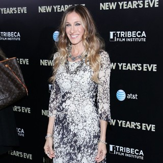 Sarah Jessica Parker in New York Premiere of New Year's Eve - Arrivals