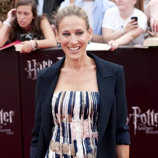 Sarah Jessica Parker in New York Premiere of Harry Potter and the Deathly Hallows Part II - Arrivals