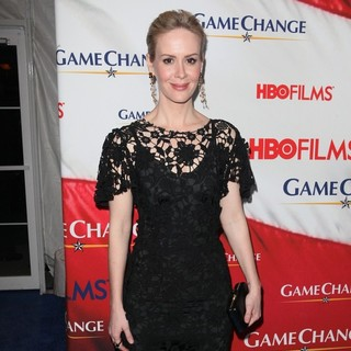 Sarah Paulson in New York Premiere of Game Change - Arrivals