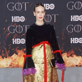 Sarah Paulson in Game of Thrones Season 8 Premiere - Red Carpet Arrivals