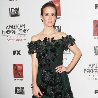 Sarah Paulson in Premiere Screening of FX's American Horror Story: Asylum