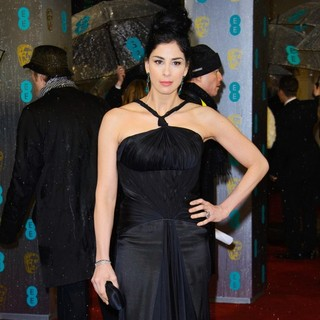 Sarah Silverman in The 2013 EE British Academy Film Awards - Arrivals