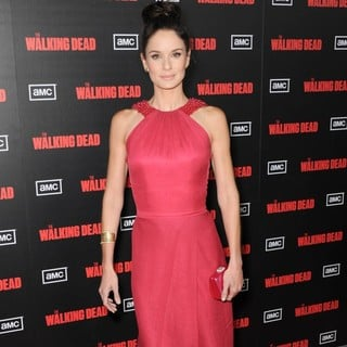 Sarah Wayne Callies in The Premiere of AMC's The Walking Dead 2nd Season
