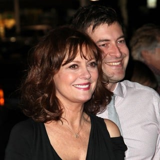 Susan Sarandon, Mark Duplass in The Premiere of Jeff Who Lives at Home - Arrivals
