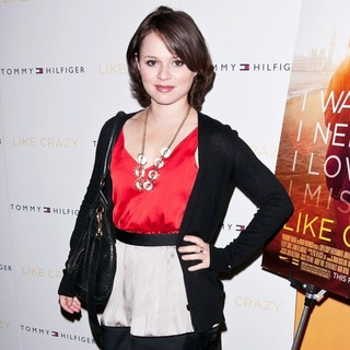 Sasha Cohen in The New York Premiere of Like Crazy