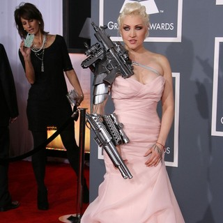 Sasha Gradiva in 54th Annual GRAMMY Awards - Arrivals