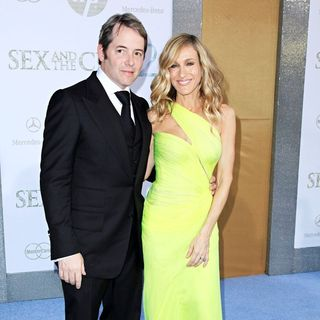 Matthew Broderick, Sarah Jessica Parker in World Premiere of 'Sex and the City 2' - Arrivals