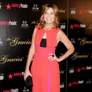 Savannah Guthrie in The 37th Annual Gracie Awards Gala