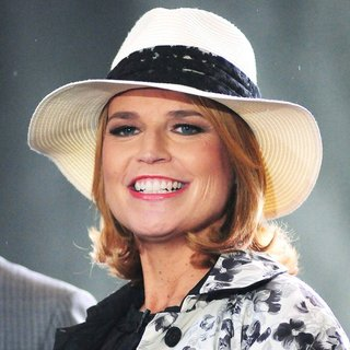 Savannah Guthrie in Pharrell Williams Performs Live on The Today Show