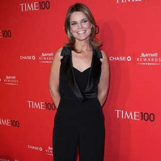 Savannah Guthrie in The Time 100 Gala - Inside Arrivals