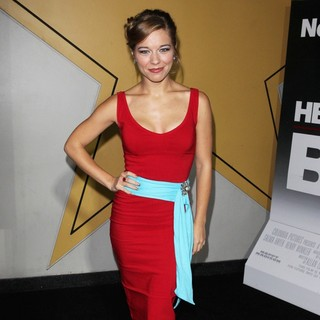 Savannah Wise in Here Comes the Boom New York Premiere