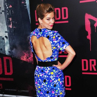 Savannah Wise in Dredd New York Screening