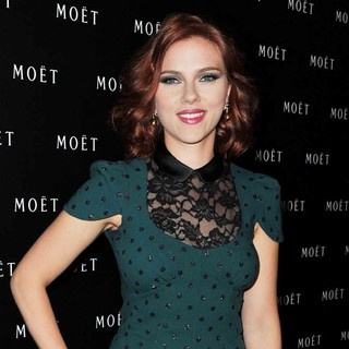 Scarlett Johansson in The 1743 Spirit of Moet and Chandon Celebrations