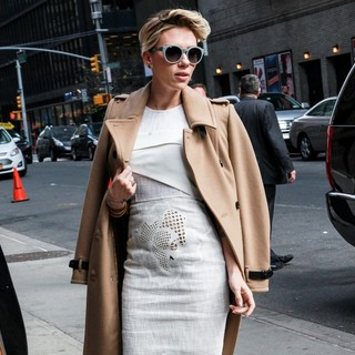 Scarlett Johansson in Scarlett Johansson for The Late Show with David Letterman