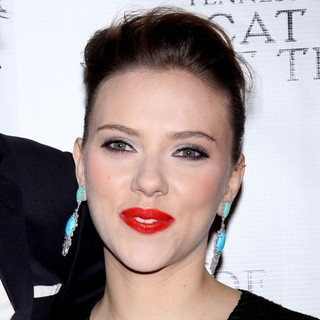 Scarlett Johansson in The Opening Night After Party for Cat on A Hot Tin Roof