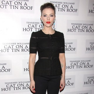 Scarlett Johansson in The Opening Night After Party for Cat on A Hot Tin Roof - scarlett-johansson-opening-night-cat-on-a-hot-tin-roof-03