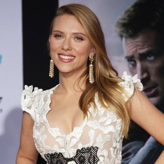 Scarlett Johansson in Captain America: The Winter Soldier Los Angeles Premiere