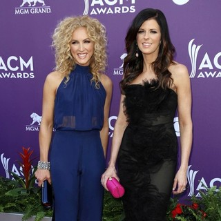 Kimberly Schlapman, Karen Fairchild, Little Big Town in 48th Annual ACM Awards - Arrivals