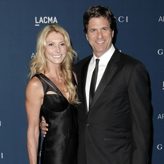 Krista Schmuck, Steven Levitan in LACMA 2013 Art and Film Gala Honoring Martin Scorsese and David Hockney Presented by Gucci