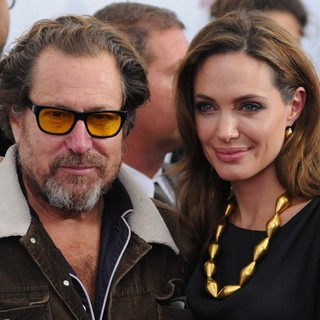 Julian Schnabel, Angelina Jolie in Premiere of In the Land of Blood and Honey - Arrivals