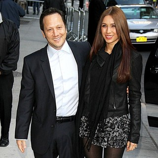 Rob Schneider and Patricia Azarcoya Arce to Appear on The Late Show with David Letterman - schneider-arce-late-show-with-david-letterman-01