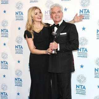 Holly Willoughby, Phillip Schofield in National Television Awards 2013 - Press Room