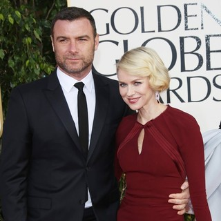 Liev Schreiber, Naomi Watts in 70th Annual Golden Globe Awards - Arrivals