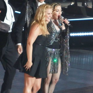Amy Schumer, Madonna in Madonna Performs Live During Her Rebel Heart Tour