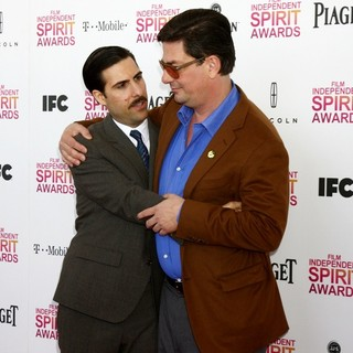 Jason Schwartzman in 2013 Film Independent Spirit Awards - Arrivals - schwartzman-coppola-2013-film-independent-spirit-awards-01