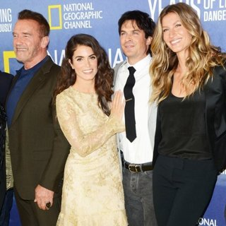 Arnold Schwarzenegger, Nikki Reed, Ian Somerhalder, Gisele Bundchen-National Geographic's Years of Living Dangerously Season 2 World Premiere - Red Carpet Arrivals