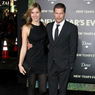 Svenja Holtmann, Til Schweiger in Los Angeles Premiere of New Year's Eve