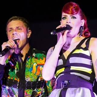 Jake Shears, Ana Matronic, Scissor Sisters in Scissor Sisters Performing Live at The Cascais Music Festival