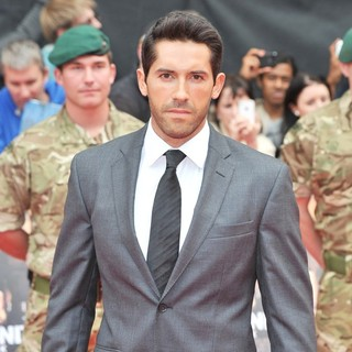 Scott Adkins in The Expendables 2 UK Premiere - Arrivals