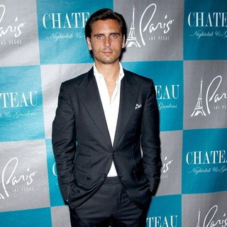 Scott Disick in Scott Disick Walks The Red Carpet at Chateau Nightclub and Gardens