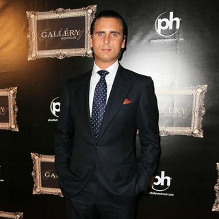 Scott Disick in Gallery Nightclub Celebrates It's Grand Opening with Kourtney Kardashian's Birthday Bash
