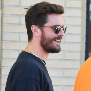 Scott Disick-Scott Disick Shopping at Barney's New York Store