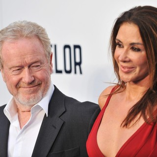 Ridley Scott, Giannina Facio in The Counselor Special Screening