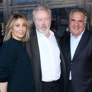 Ridley Scott, Jim Gianopulos in Ridley Scott Honored with Star on The Hollywood Walk of Fame