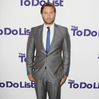 Scott Porter in Los Angeles Premiere of The To Do List