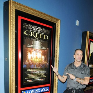 Scott Stapp, Creed in The Premiere of Creed Live